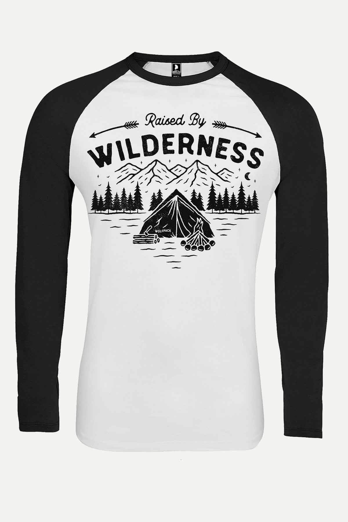 NIGHT IN MOUNTAINS RAGLAN UNISEX
